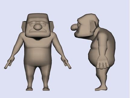Fig. 5: Carl's final body